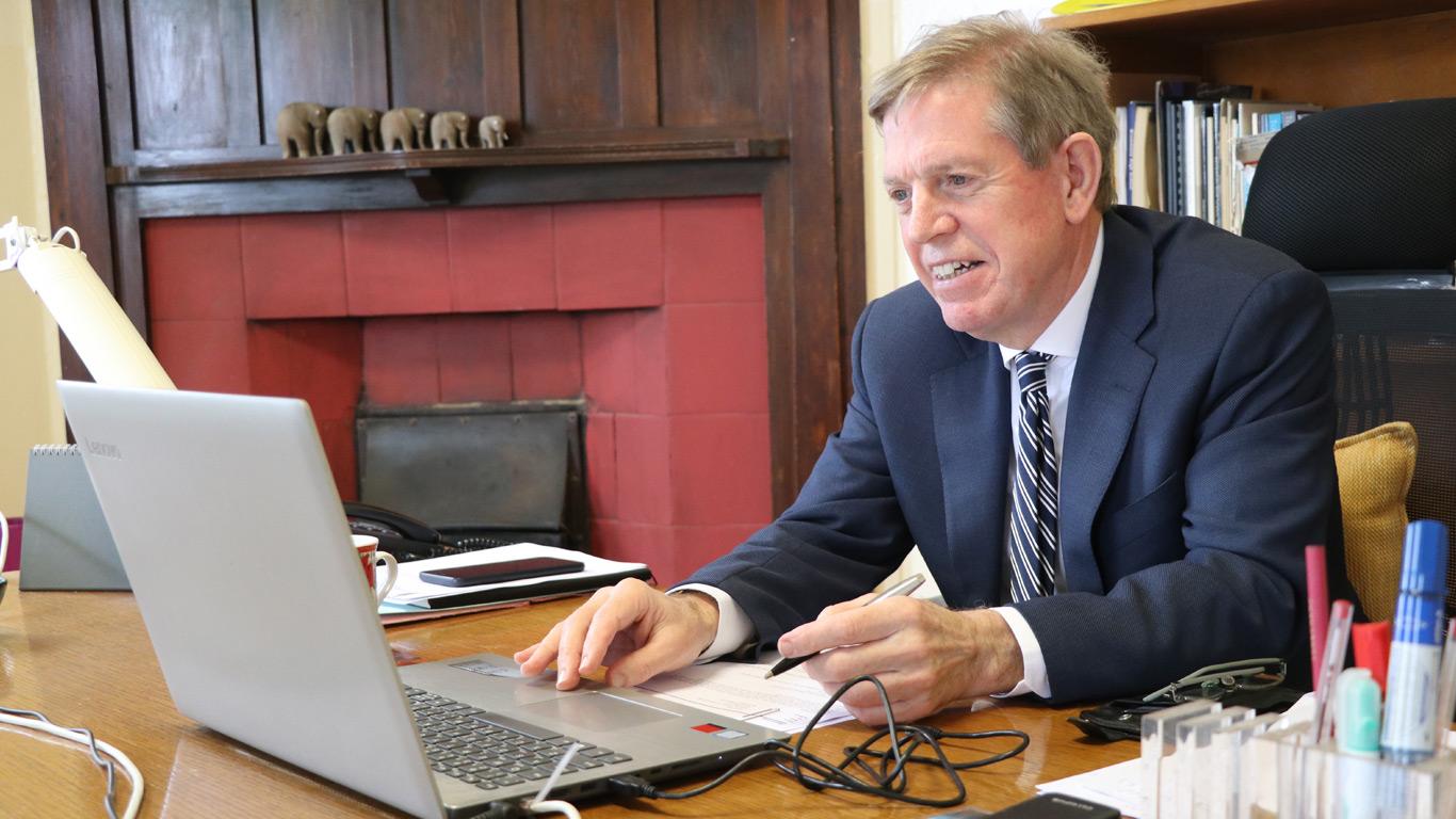 Principal David Gray