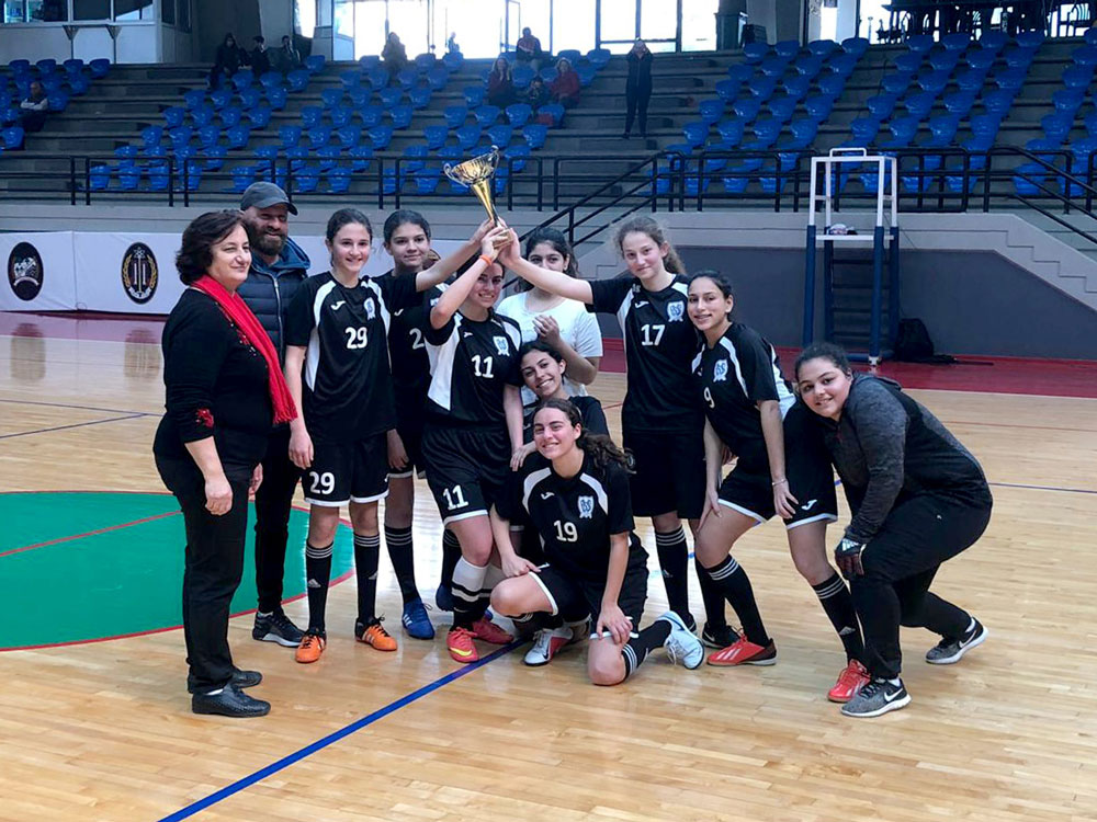 Girls Footsal Team